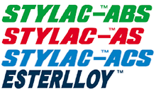 STYLAC™ ABS/AS/ACS、<br>ESTERLLOY™